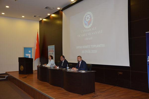 ÇTSO Ortak Komite ve Eylül ayı Olağan Meclis Toplantısı Yapıldı