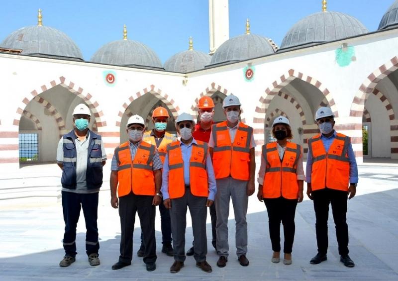 18 Mart İÇDAŞ Ulu Camii'de Teknik İnceleme Gerçekleştirildi