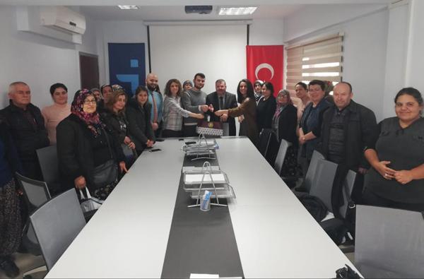 Çanakkale İŞKUR Dardanel Önentaş İşbirliği İle İş Başı Eğitim Kursları Devam Ediyor