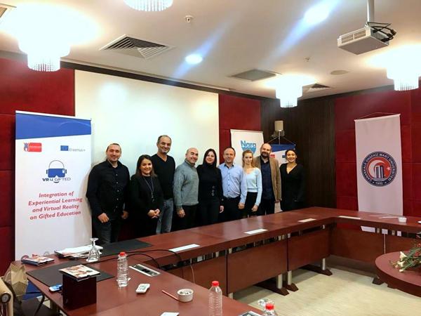 Türkiye'nin İlk 10 Projesinden Biri Olan AB Projesinin İlk Toplantısı Yapıldı