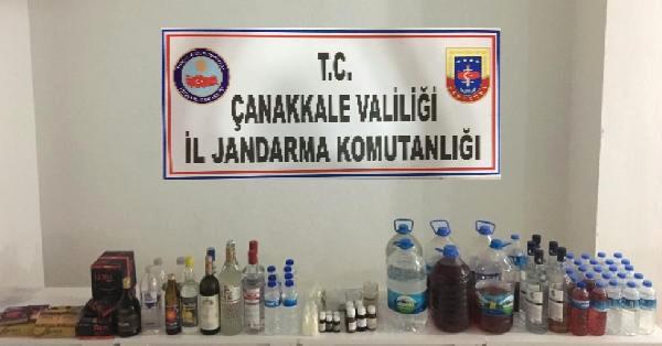 Jandarma Alkollü İçki Denetimlerinde Ceza Kesti