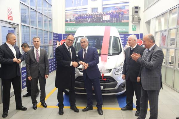 Ford Otomotiv Sanayi A.Ş'den Çanakkale'de Bulunan İMKB'ye Hibe Araç