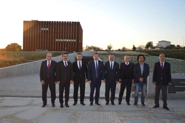 Sayıştay Başkanı Seyit Ahmet Baş, Troya Müzesini Ziyaret Etti