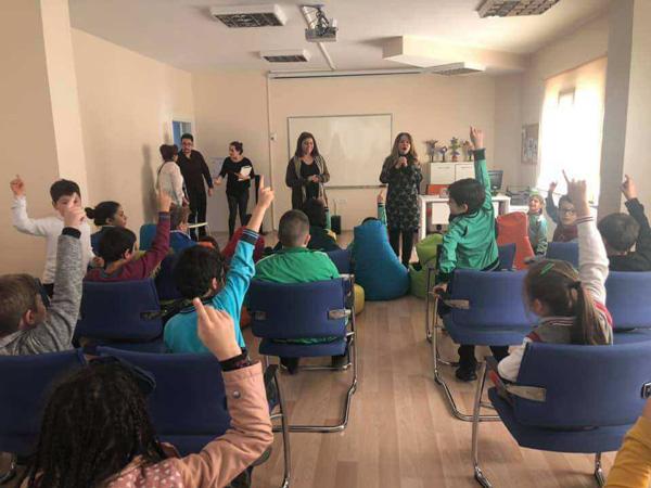 Çocuk Kültür Evi'nde