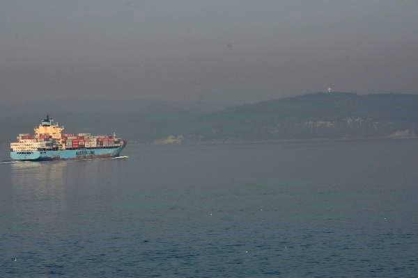 Çanakkale Boğazı Sis Nedeniyle Transit Gemi Geçişlerine Kapatıldı