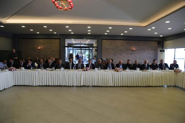Muhtarlar Toplantısı, Vali Orhan Tavlı Başkanlığında Yapıldı