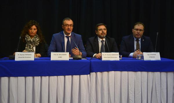 Bor Madeninin Türkiye ve Dünya Potansiyeli ÇOMÜ'de Konuşuldu