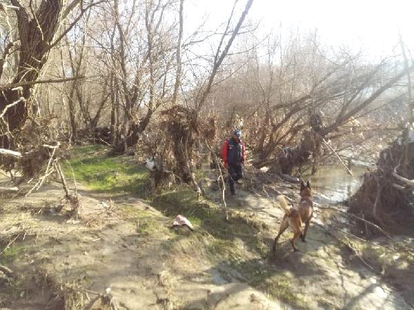 Kayıp Barış, Kadavra Köpeği 'Abrek'le Aranıyor