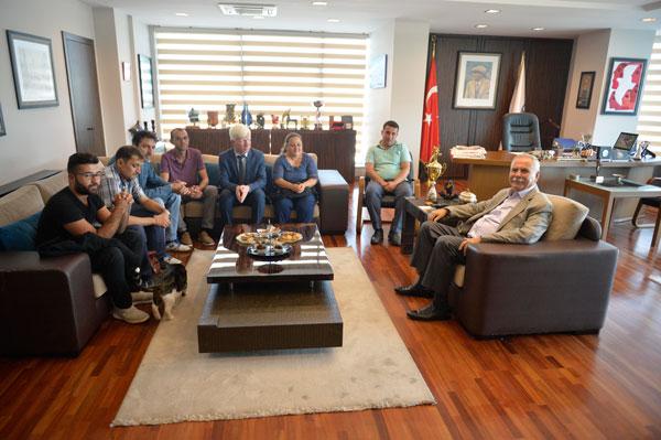 1915 Çanakkale Spor Kulübü'nden Başkan Gökhan'a Teşekkür Ziyareti