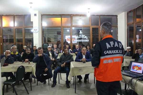 AFAD Vatandaşları Bilinçlendirmeye Devam Ediyor