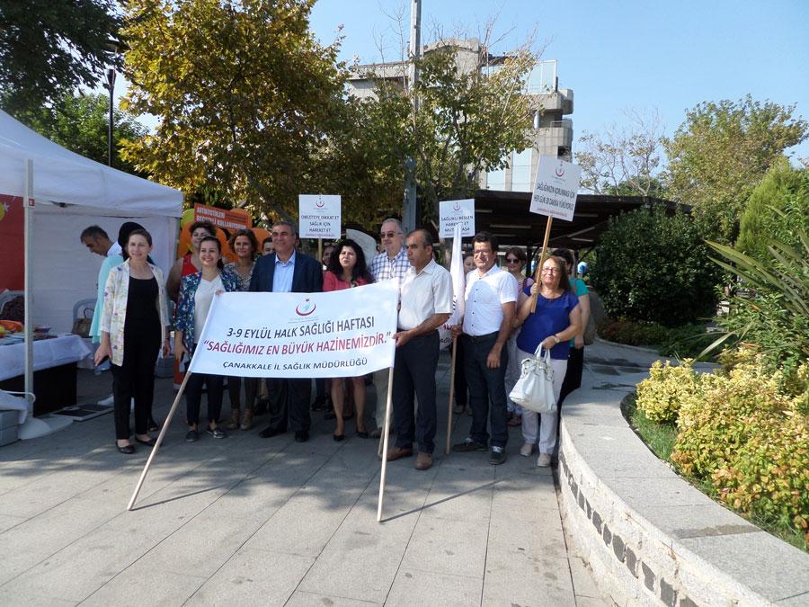 Halk Sağlığı Haftası Yürüyüş Etkinliği