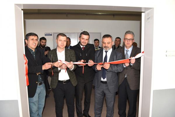 Çan Uygulamalı Bilimler Yüksekokulu İş Sağlığı ve Güvenliği Laboratuvarı Açıldı