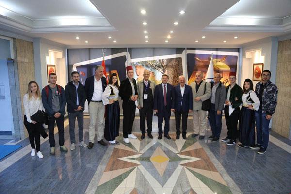 Bosna Hersek Halk Oyunları Ekibi Çanakkale'de