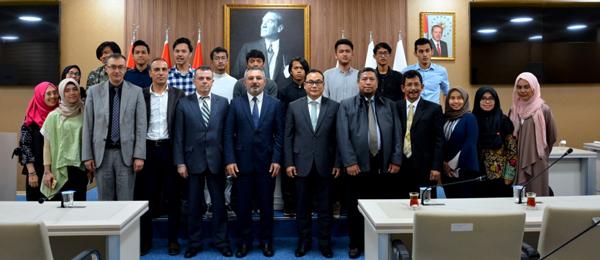 Endonezya Başkonsolosundan Acer'e Ziyaret