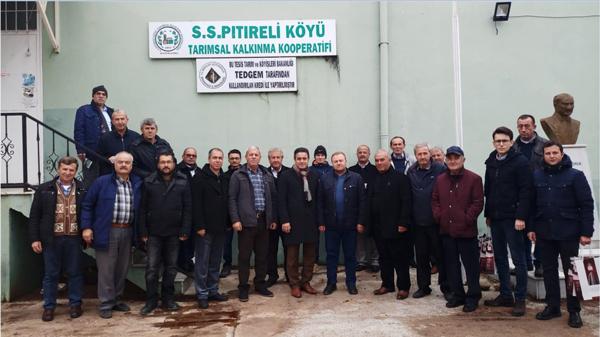 Tarihî Alan Başkanlığı Bayramiç'e Teknik Gezi Düzenledi