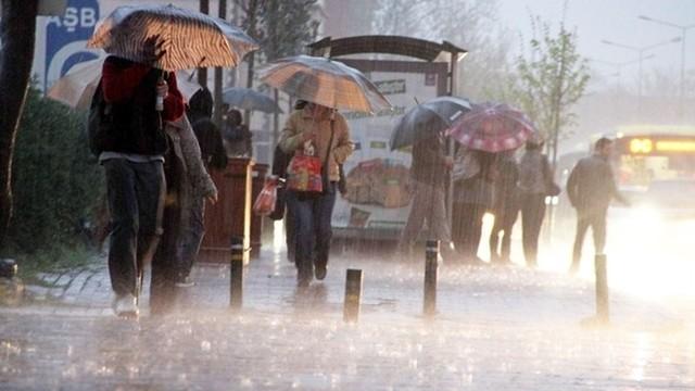 Meteorolojiden 3 İl İçin Kuvvetli Yağış Uyarısı