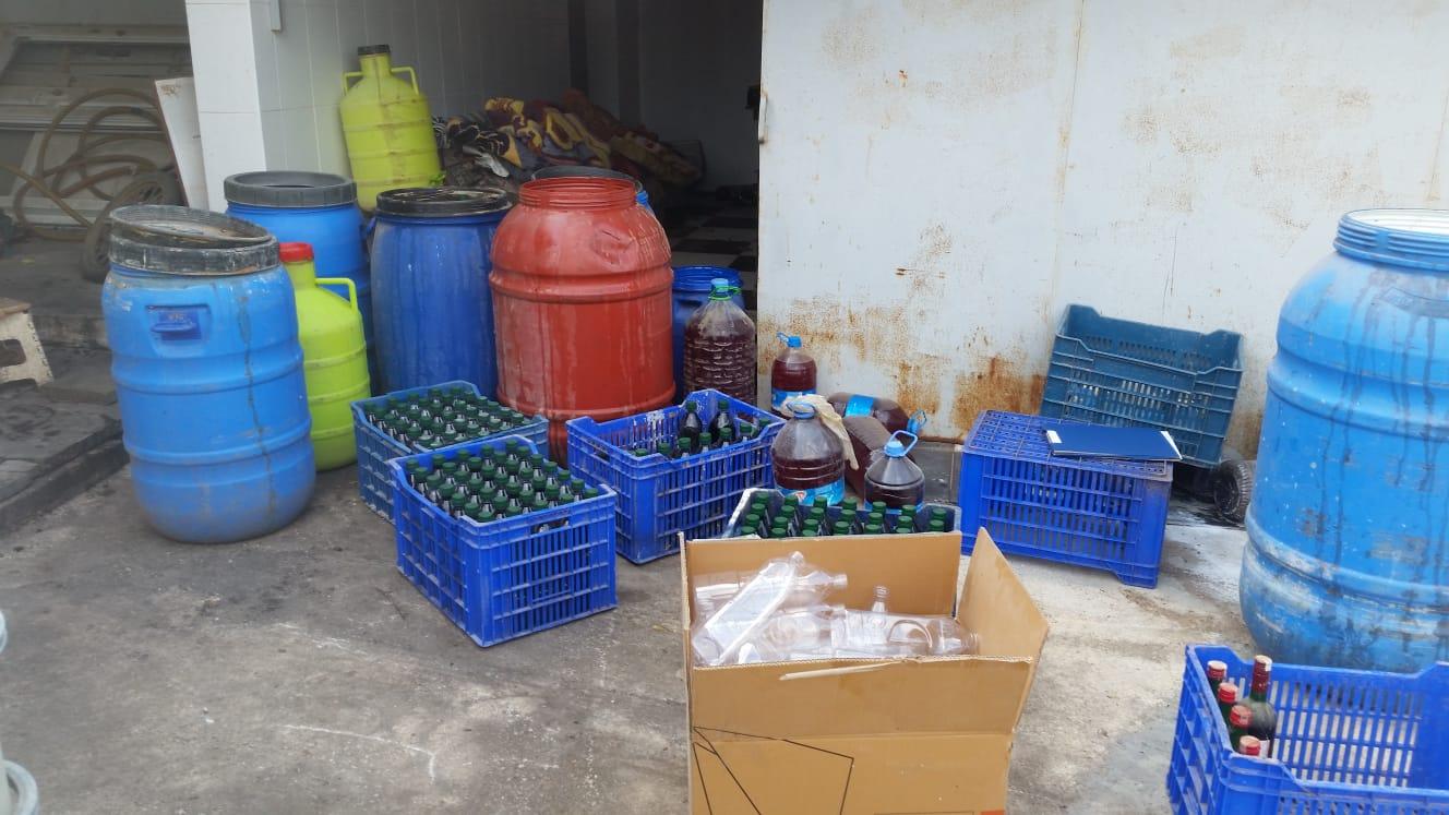 Jandarmadan Kaçak İçki Üretimine Ağır Darbe