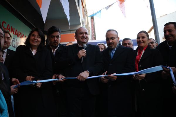 AK Parti Barbaros Seçim Ofisi Açıldı