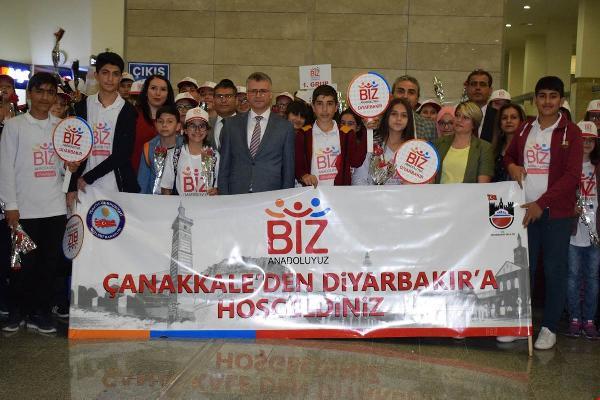 Çanakkale'den Giden 100 Öğrenci Diyarbakır'ı Gezdi
