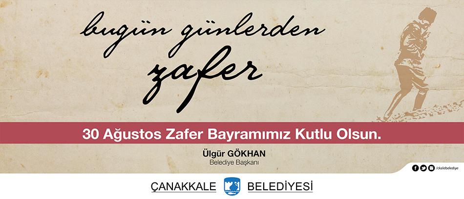 Ülgür Gökhan'dan 30 Ağustos Zafer Bayramı Mesajı
