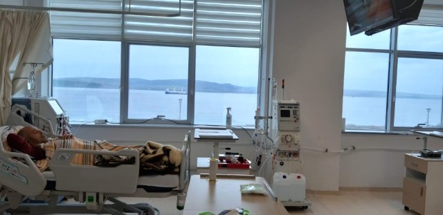 Lapseki Devlet Hastanesi Diyaliz Ünitesi Açıldı