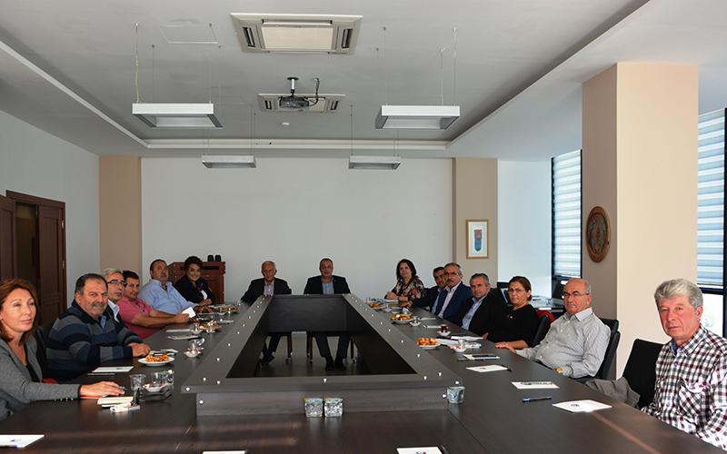 ÇTSO Yönetim Kurulu 4 No'lu Meslek Grubu Üyeleriyle bir araya geldi