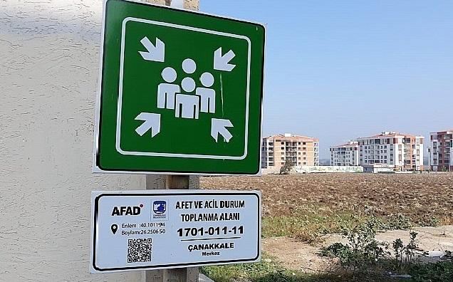 AFAD: Çanakkale'de 127 Toplanma Alanı Var