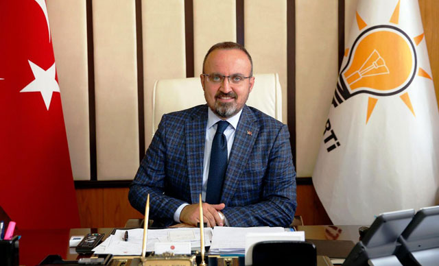 AK Parti'li Turan: Bu Gurur Çanakkale'mizin