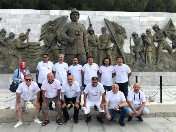 Asker Arkadaşları 30 Yıl Sonra Çanakkale'de Buluştu