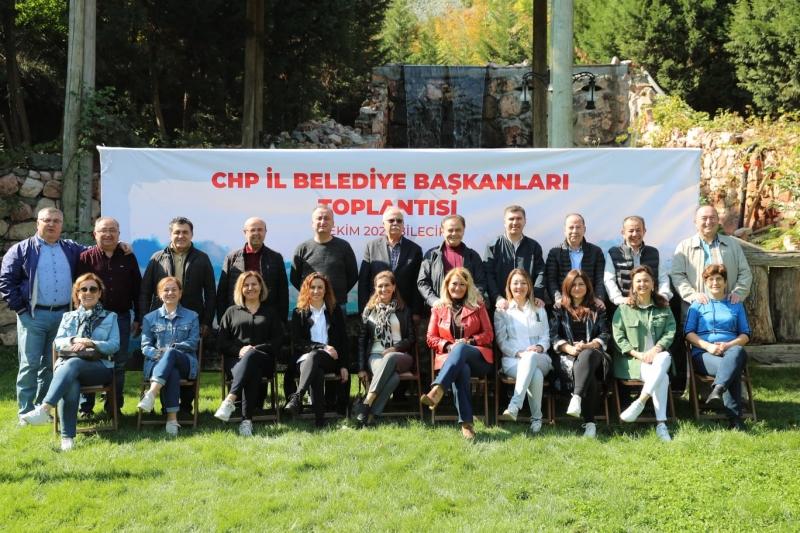 Başkan Gökhan Bilecik'te İl Belediye Başkanları İle Bir Araya Geldi