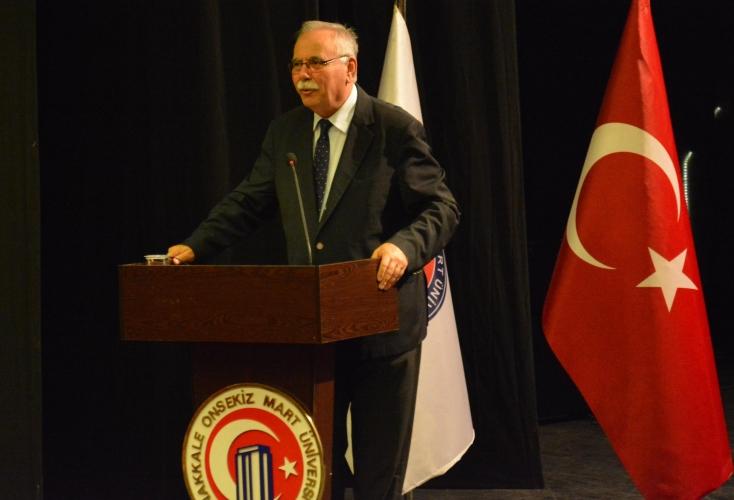 Başkan Gökhan, ÇOMÜ'de Konferans Verdi