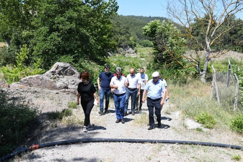 Başkan Gökhan Köy Ziyaretlerine Devam Ediyor