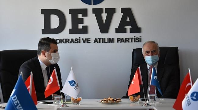 Başkan Gökhan'dan Deva Partisi Yönetimine Ziyaret