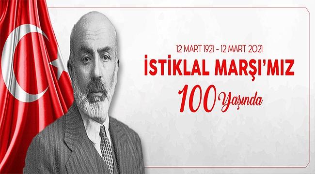 Başkan Ülgür Gökhan'ın İstiklal Marşı'nın Kabulünün Yıl Dönümü Kutlama Mesajı