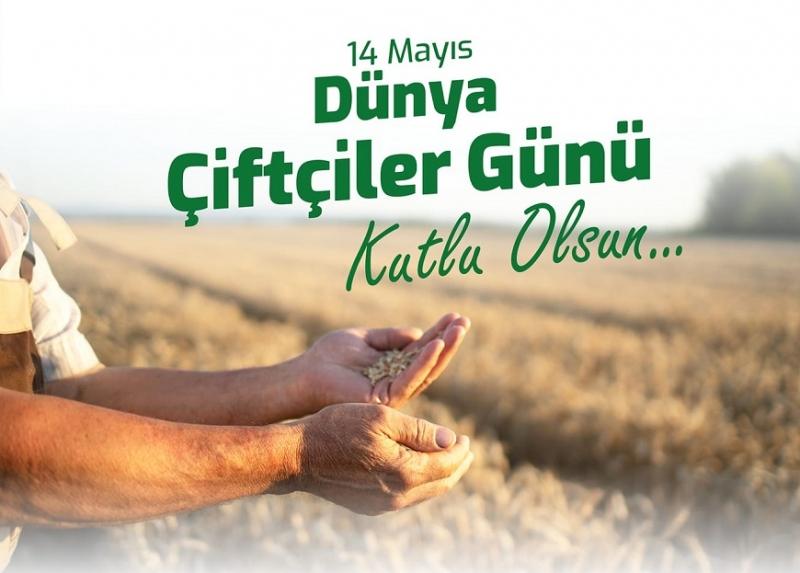 Başkan Ülgür Gökhan'ın 14 Mayıs Dünya Çiftçiler Günü Mesajı