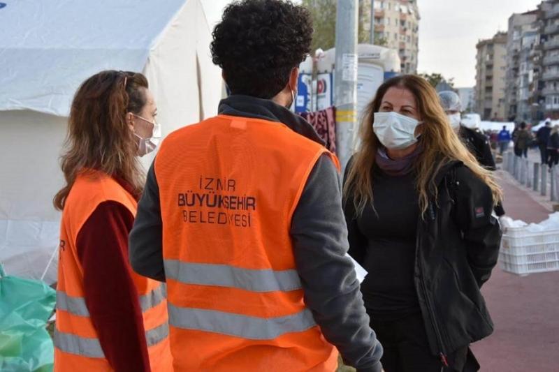 Başkan Yardımcısı Ünüvar Çadır Kentte