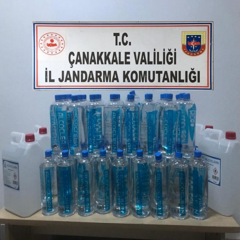 Biga'da Sahte Alkol Operasyonuna 3 Gözaltı