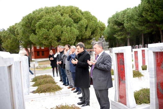 Bosna-Hersek Büyükelçisi Sadoviç Tarihi Alan'ı Ziyaret Etti