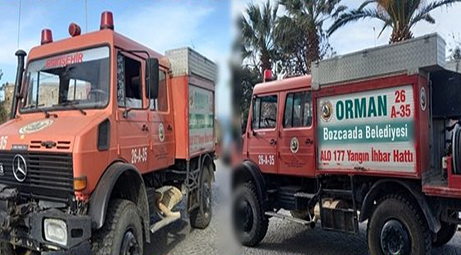 Bozcaada Belediyesi'ne Arazöz Tahsis Edildi