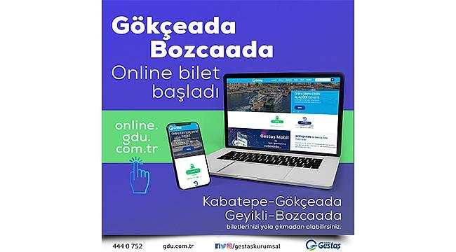 Bozcaada ve Gökçeada Hattı'nda Online Bilet Dönemi Başladı