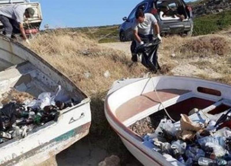Bozcaada'da Tatilcilere 'Çöp' Çağrısı