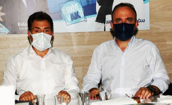 Bülent Turan, AK Parti Merkez İlçe Başkanlığını ziyaret etti