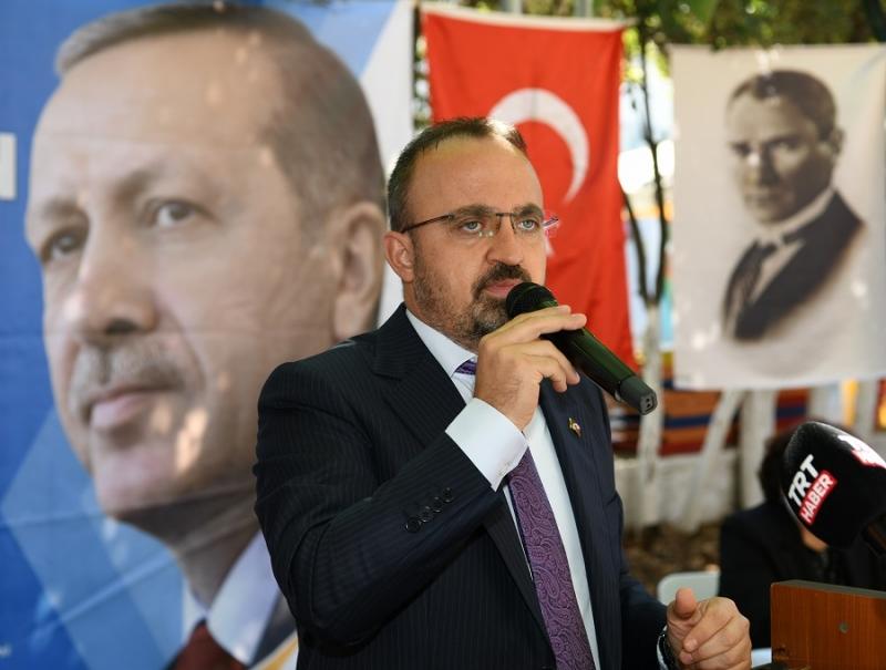 Bülent Turan; Binali Yıldırım'ın Çanakkale'ye geleceğini duyurdu