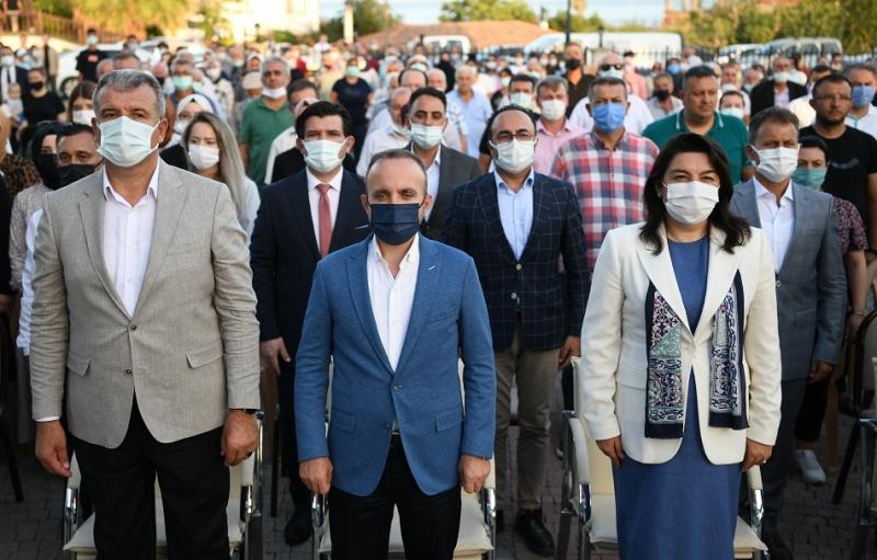 Bülent Turan, Karabiga Huzurevi açılışını yaptı