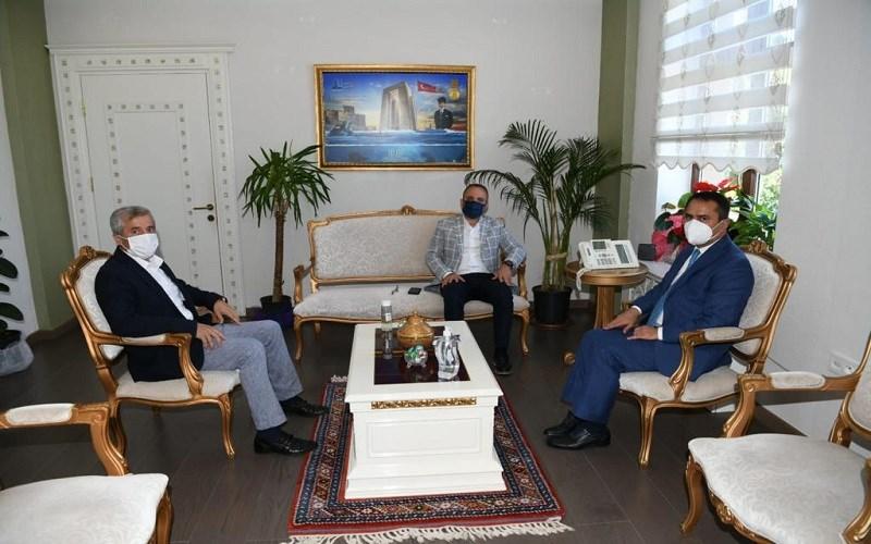 Bülent Turan, Vali  AKTAŞ'ı Ziyaret Etti