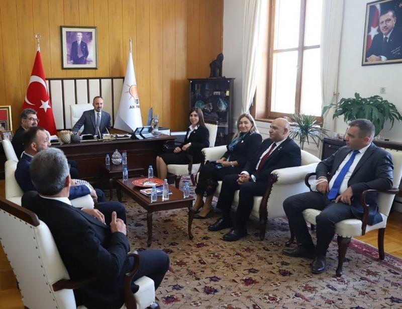 Bülent Turan:'Milli davamız Kıbrıs, bizim için vatanın ta kendisidir'