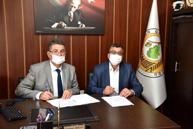 Çan Belediyesi Mesire Alanı İçin Sözleşme İmzaladı