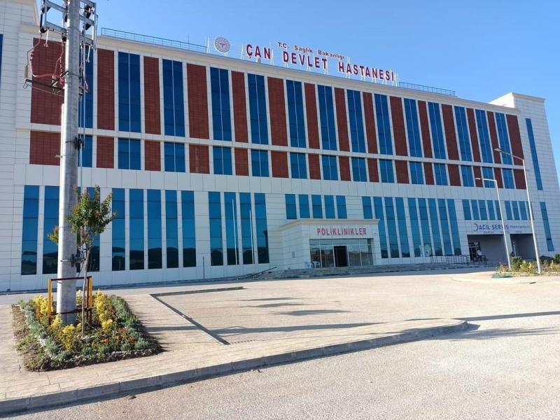 Çan Devlet Hastanesi  hasta kabulüne başladı