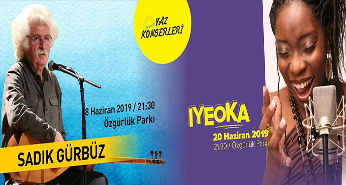 Çanakkale Belediyesi Yaz Konserleri Başlıyor; Iyeoka ve Sadık Gürbüz Çanakkale'ye Geliyor