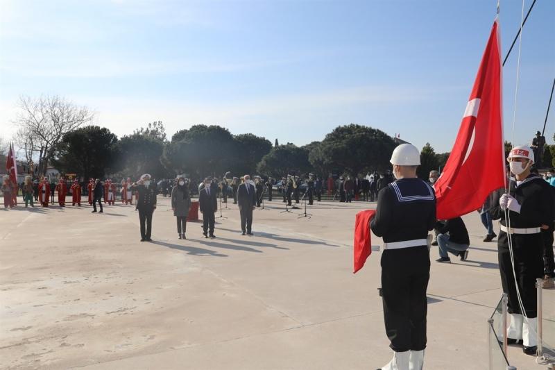 Çanakkale Deniz Zaferi'nin 106. Yıldönümü Açılış Töreni Kale-i Sultaniye' de Gerçekleştirildi
